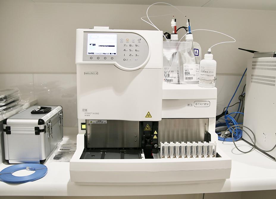 グリコヘモグロビン/グルコース分析装置